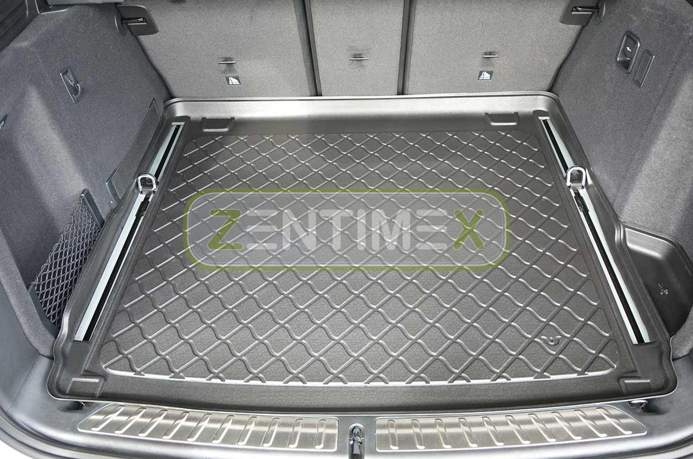 Gummierte Kofferraumwanne für BMW X3 F25 Steilheck Geländewagen SUV 5-türer 2010