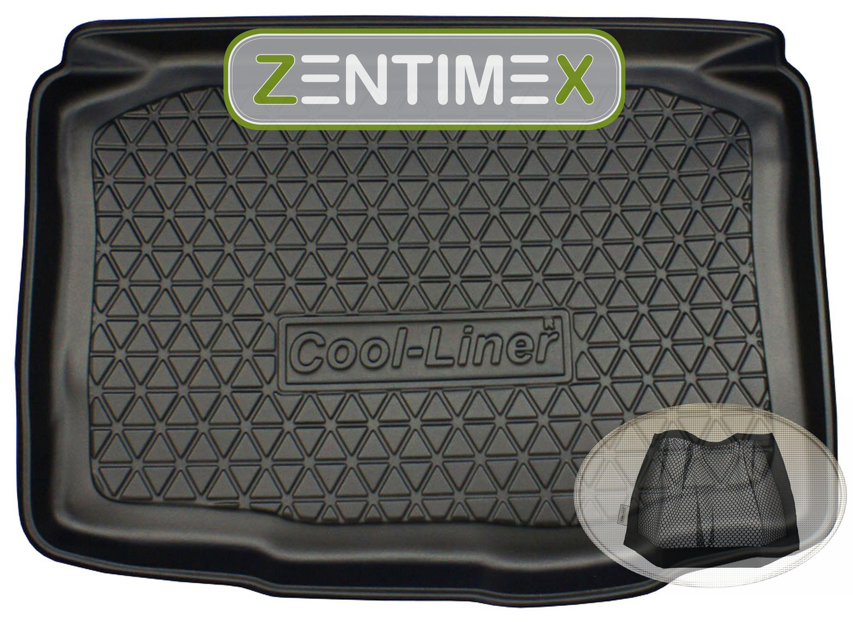 Geriffelte Kofferraumwanne für Seat Ibiza SC 6J Vor-Facelift Schrägheck Hatchbac