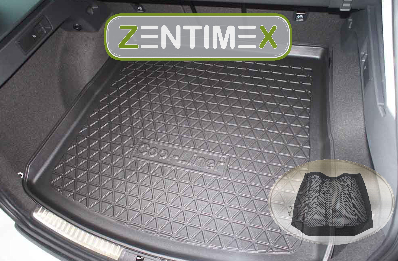 Z330971 SET Kofferraumwanne Gummifußmatten für Seat Leon SC Reference 3 5F Schrä