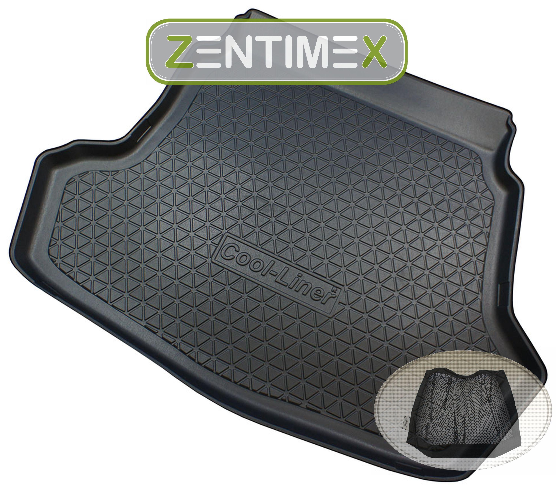 Gummierte Kofferraumwanne für Kia Optima GT-Line 4 JF Limousine Stufenheck 4-tür