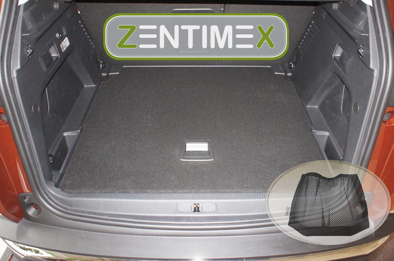 Für Opel Grandland X ab 9.17 Kofferraum-Auskleidung Wanne mit Stoßstangenschutz