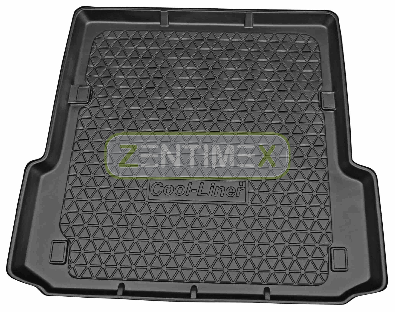 Geriffelte Kofferraumwanne für Ford Focus Sport 3 Facelift Schräghecklimousine4E