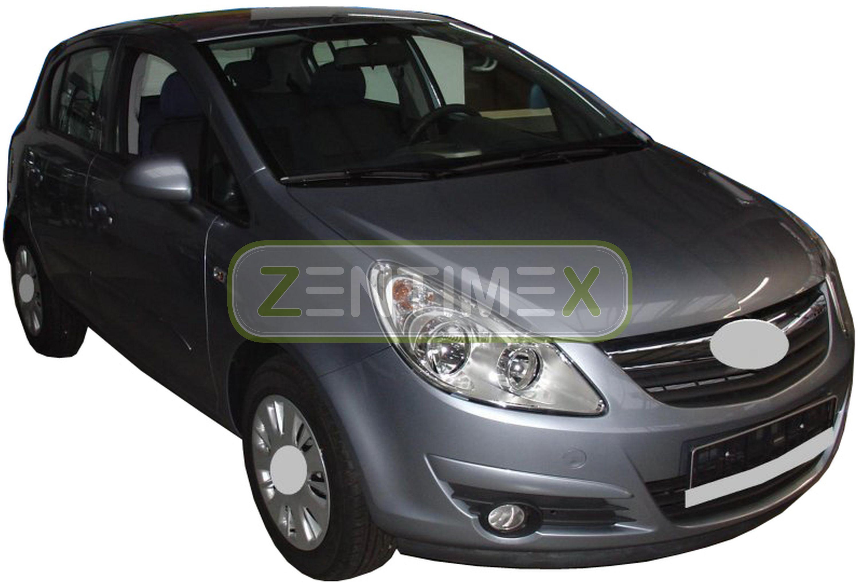 Kofferraumwanne für Opel Corsa D Schrägheck Hatchback 3-türer 2006-2014 erhöhte