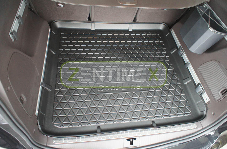 Matte µ Antirutsch Laderaumwanne Kofferraumwanne Opel Zafira C Tourer