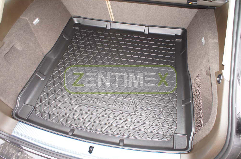Gummierte Kofferraumwanne für Audi A4 Allroad Quattro B8 8KH Facelift Offroad Ge
