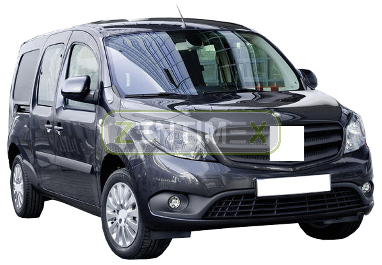 4320mm Kastenwag Sitzbezug klimatisierend schwarz für Mercedes Citan W415 Länge