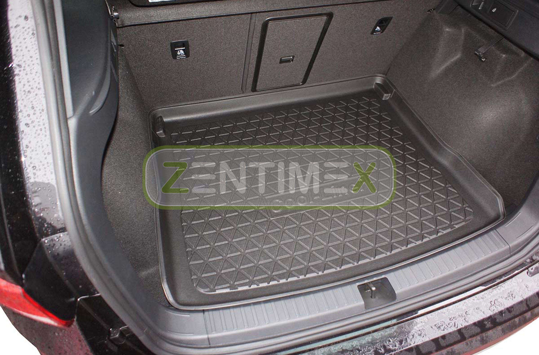 Gummierte Kofferraumwanne für Seat Ateca Style Steilheck Geländewagen SUV 5-tü1D