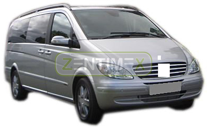 Gummierte Kofferraumwanne für Mercedes Viano Lang X-Clusive W639 W 639 Kleinbus
