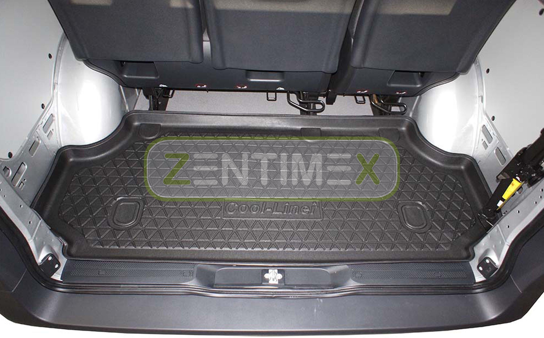 Gummierte Kofferraumwanne Für Mercedes Vito Tourer Langversion Lang W447 Kombi34 Laderaumwannen