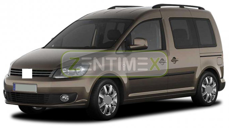 Kofferraumwanne für Volkswagen Caddy 2K Facelift Hochdachkombi 2010-2015 Trendli