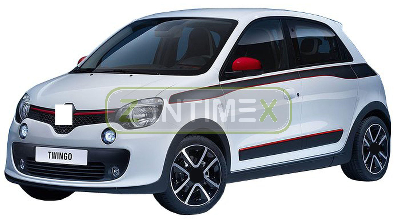 Kofferraumwanne für Renault Twingo 2 Vor-Facelift Schrägheck Hatchback 3-türer 2