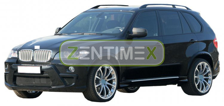 Z330237 SET Kofferraumwanne Gummifußmatten für BMW X5 E70 Vor-Facelift Steilheck