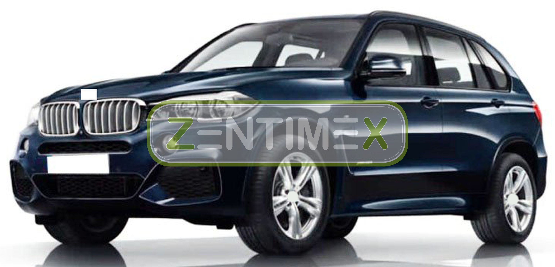 schw Gummifußmatten für BMW X5 F15 F 15 Steilheck Geländewagen SUV 5-türer 2013