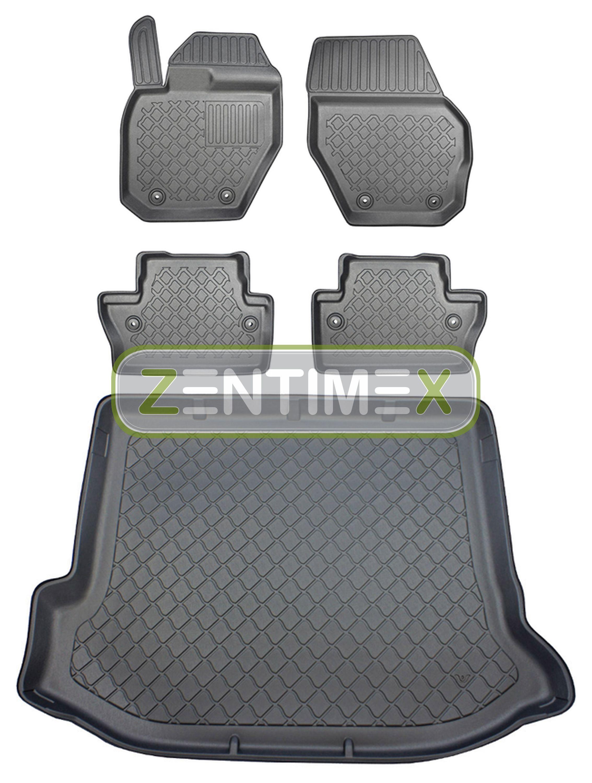 Premium-3D-TPE-Gummifußmatten für Ford Kuga Titanium 2 Steilheck Geländewagen 23