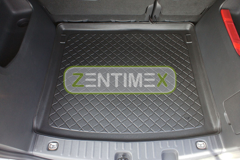 Z331228 SET Kofferraumwanne Gummifußmatten für VW Volkswagen Tiguan 4Motion Allr