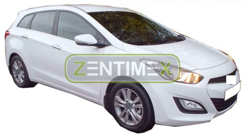 Z330338 SET Kofferraumwanne Gummifußmatten für Hyundai i30 CW Premium 2 GD Kombi