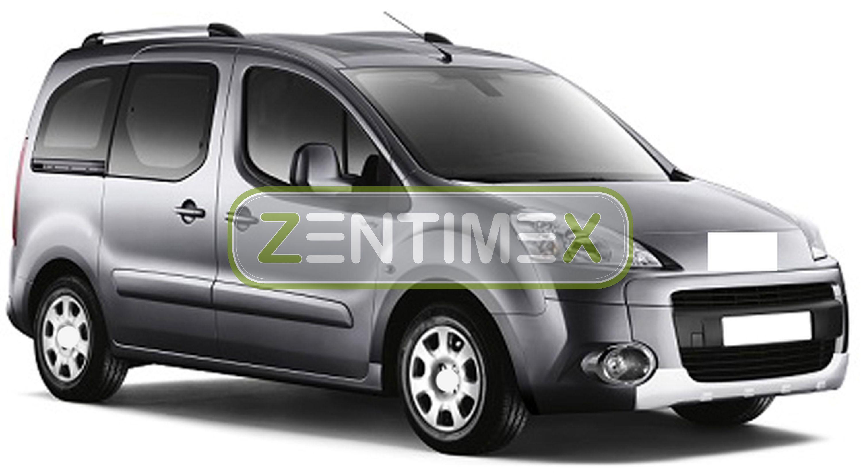 Design-3D-TPE-Gummifußmatten für Peugeot Partner Tepee 2 Facelift Kleinbus 20137