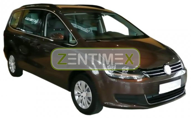Z331153 SET Kofferraumwanne Gummifußmatten für Seat Alhambra FR-Line 2 Van Kombi