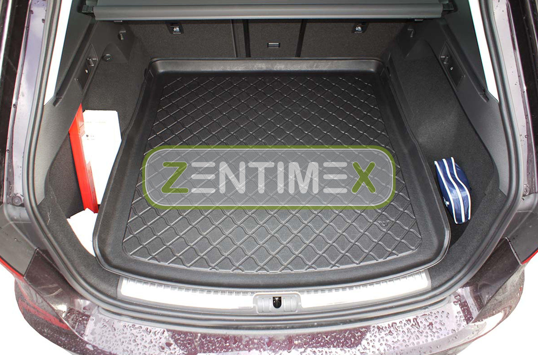 Z330981 SET Kofferraumwanne Gummifußmatten für Seat Leon ST 3 5F Kombi 5-türer 2