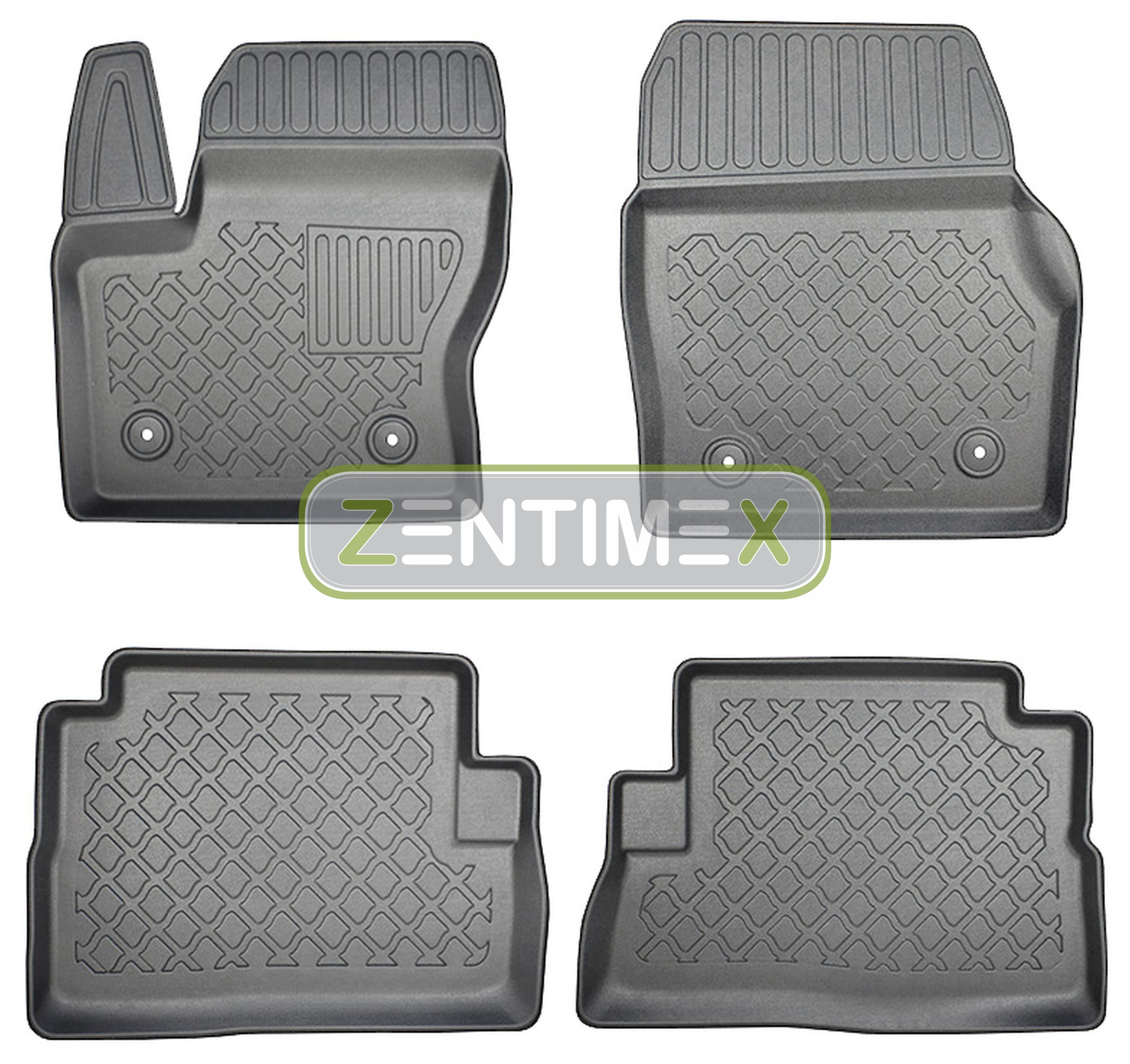 Z330299 Set Trunk Tray Rubber Floor Mats for Ford Kuga ...