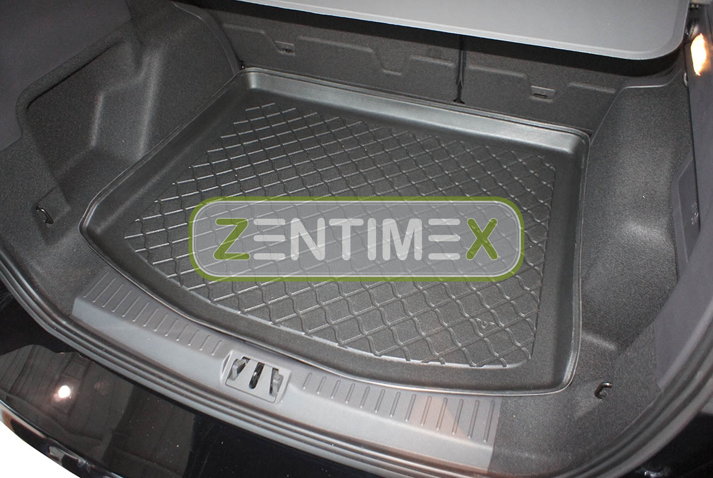 Z330300 SET Kofferraumwanne Gummifußmatten für Ford Kuga Titanium 2 Steilheck Ge