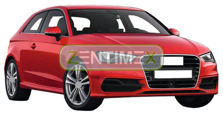 Z330091 SET Kofferraumwanne Gummifußmatten für Audi S7 Sportback C7 4G Vor-Facel