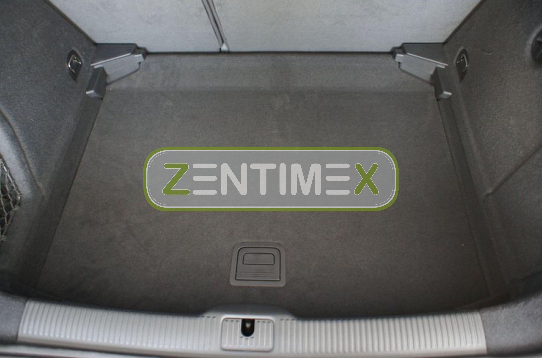 Z330961 SET Kofferraumwanne Gummifußmatten für Seat Leon FR 3 5F Schrägheck Hatc
