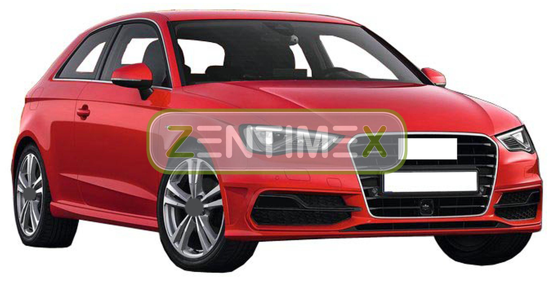 Z329956 SET Kofferraumwanne Gummifußmatten für Audi A3 4WD Allradantrieb 8V Limo