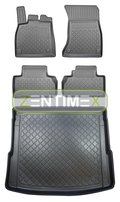 Z330118 Set Copri Baule Tappetini in Gomma per Audi Q5 Quattro 2 Fy Berlina Ge