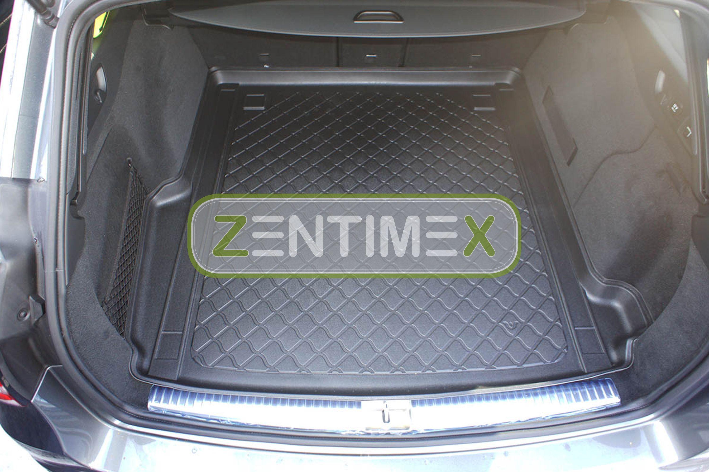 Z330524 SET Kofferraumwanne Gummifußmatten für Mercedes GLE-Klasse 2WD Hinterrad