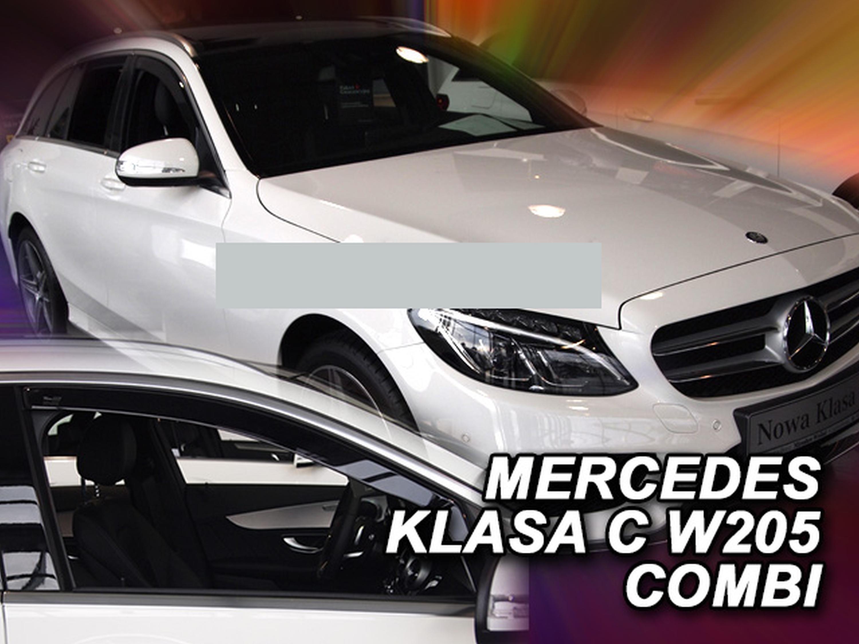 Windabweiser für Mercedes C-Klasse Avantgarde W205 2014 ...