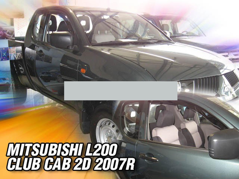 Windabweiser für Mitsubishi L200 L 200 4 KAOT 2006-2015 Pick-Up Doppelkabine Dou