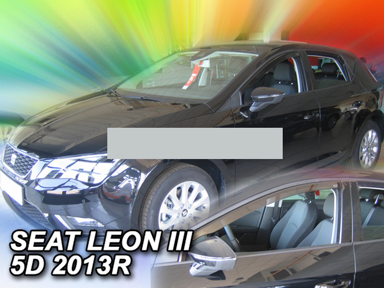 Windabweiser für Seat Leon SC Cupra 3 5F 2014 Sportcoupé Schrägheck Hatchback 3