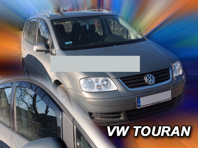 Heck-Windabweiser für Volkswagen VW Touran 1T 2003-2015 Van Kombi 5türer hinten
