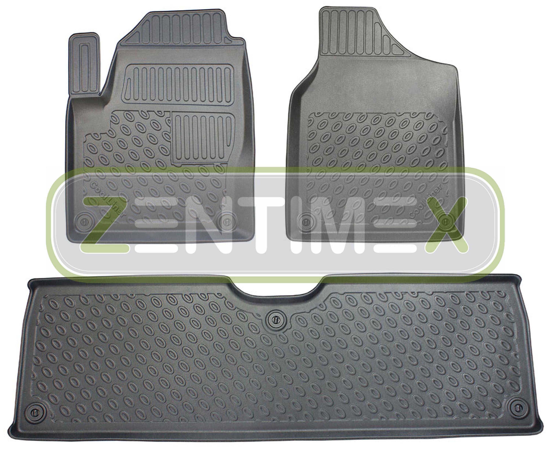 Tappetini In Gomma / Tpe 3d Premium Per Ford Galaxy 1 Wgr Facelift Van Wagon 16