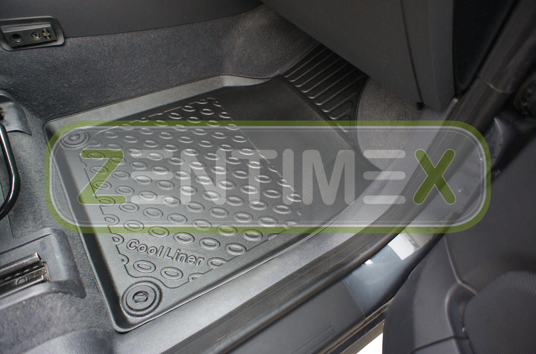 Premium-3D-TPE-Gummifußmatten für VW Volkswagen Sharan 1 7M Facelift Van Kombi45