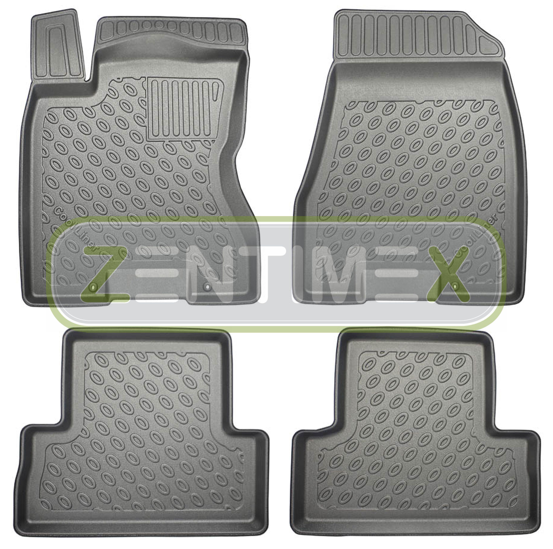 Tappetini In Gomma / Tpe 3d Premium Per Nissan X-trail 2wd Trazione Anteriore 5b
