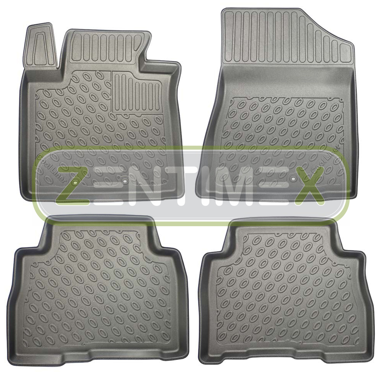 Analitico Tappetini In Gomma / Tpe 3d Premium Per Kia Sorento Spirit 2 Xm Facelift Suv 56
