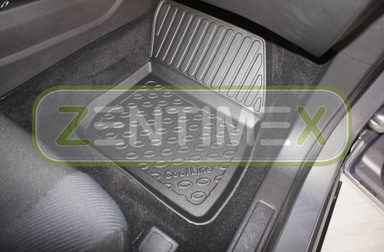 Z330328 SET Kofferraumwanne Gummifußmatten für Ford Mondeo Vignale Hybrid 5 Turn