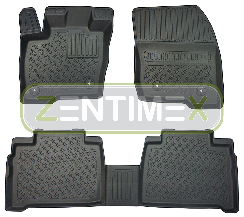 Ragionevole Tappetini In Gomma / Tpe 3d Premium Per Ford Galaxy Titanium 3 Van Wagon 5-po 38