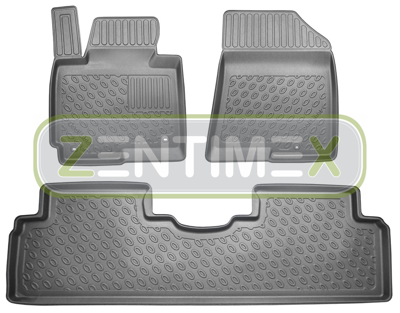 Fedele Tappetini In Gomma / Tpe 3d Premium Per Kia Carens Vision 4 Rp Van Wagon 5-po 39 Il Massimo Della Convenienza
