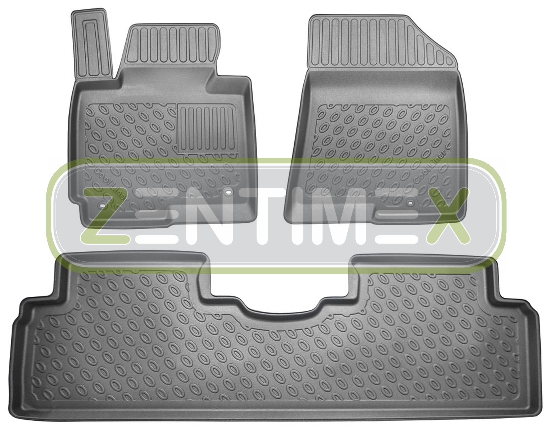 Efficiente Tappetini In Gomma / Tpe 3d Premium Per Kia Carens Vision 4 Rp Van Wagon 5-po 39 Design Accattivanti;