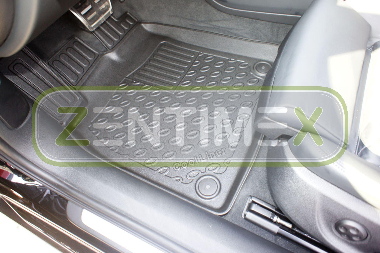Premium-3D-TPE-Gummifußmatten für Audi S6 C7 4G Avant Kombi 5-türer 2011