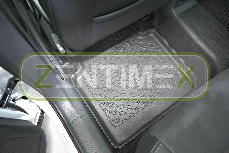 Premium-3D-TPE-Gummifußmatten für VW Volkswagen Tiguan Allspace Steilheck Gelän5