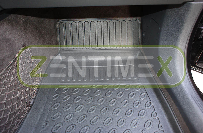 RMME201702 PREMIUM Gummimatten Gummifußmatten TPE 3D MERCEDES E-W211 2002-2009
