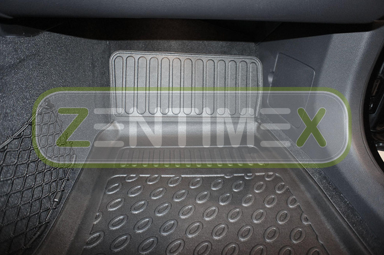 Design-3D-TPE-Gummifußmatten für Mercedes E-Klasse 2WD Hinterradantrieb S212 W17