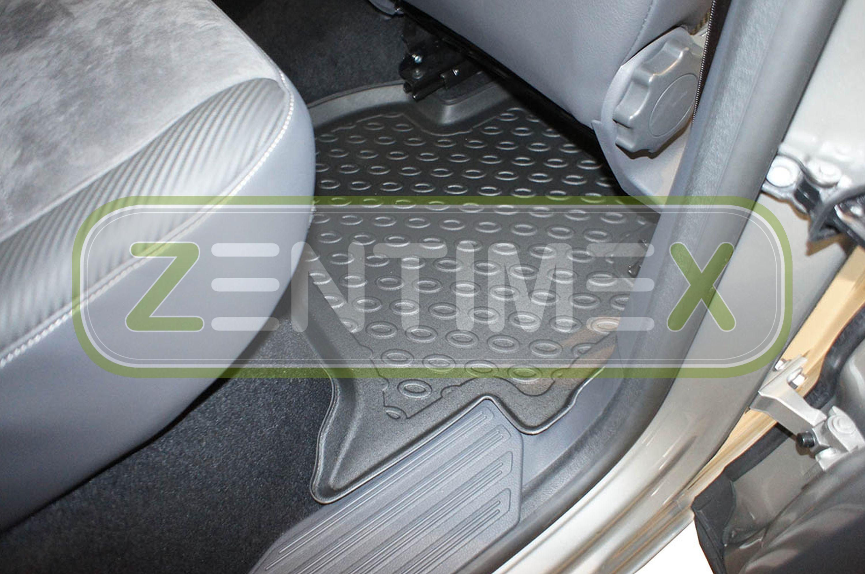Design-3D-TPE-Gummifußmatten für VW Volkswagen Amarok Basis Pick-Up Double Cab 5
