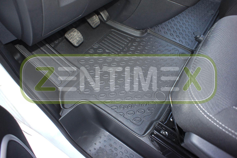 Design-3D-TPE-Gummifußmatten für Nissan NV300 Kleinbus 2016