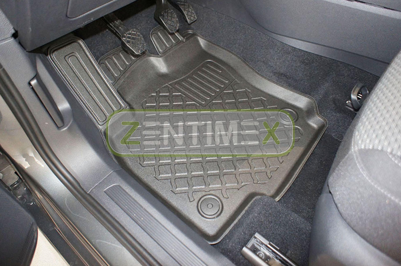 TPE 3D Design per VW Volkswagen Touran 1 1T Van Wagon 5-p 3 Tappetini in gomma