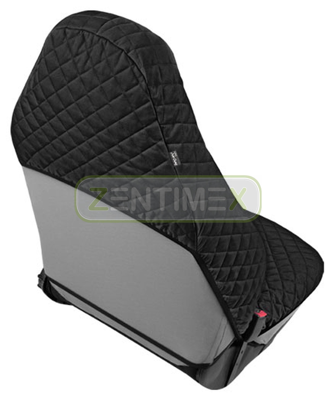 Sitzbezug B unterfüttert schwarz für Chrysler Crossfire Roadster Cabriolet 2-tür